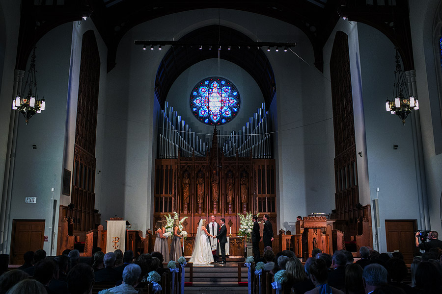 Marsh Chapel Wedding