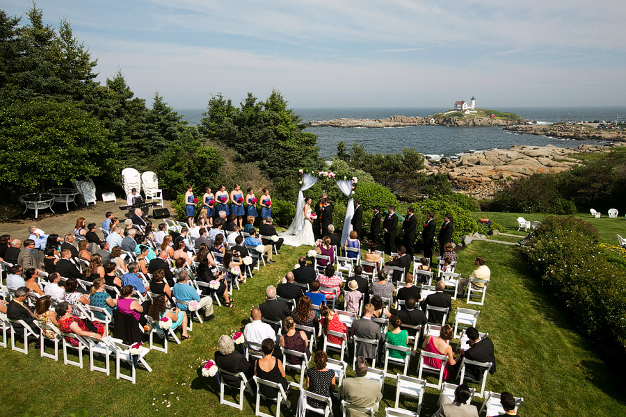 York Maine Wedding