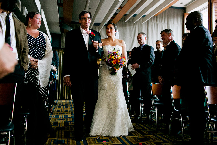 charles hotel ceremony wedding