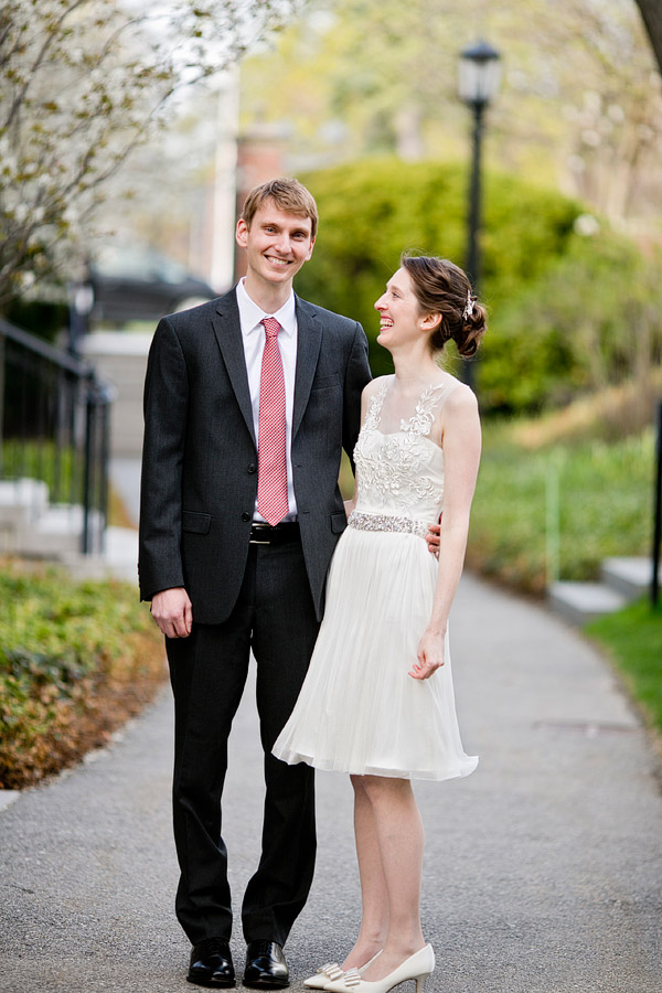 Harvard wedding
