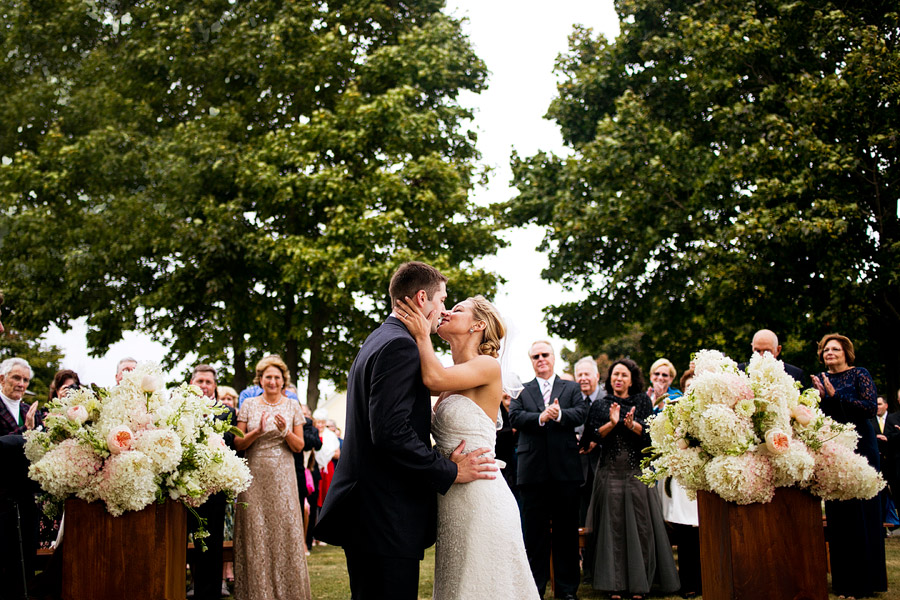 Laudholm Farm Wedding Ceremony