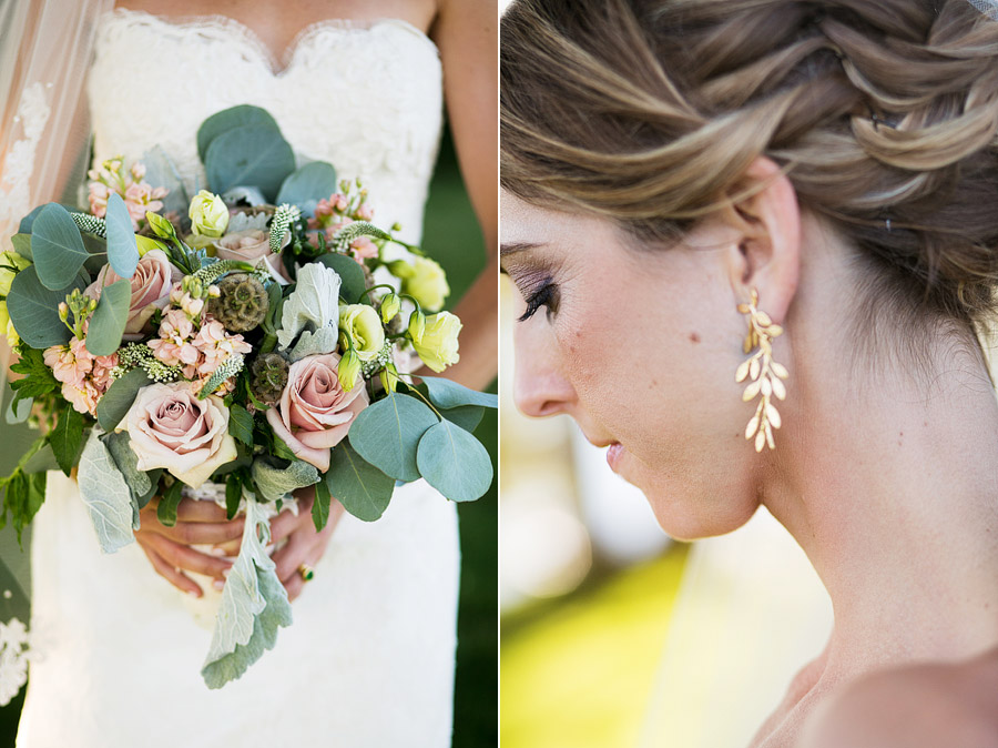 Bridal Flowers for Misslewood Estate Wedding