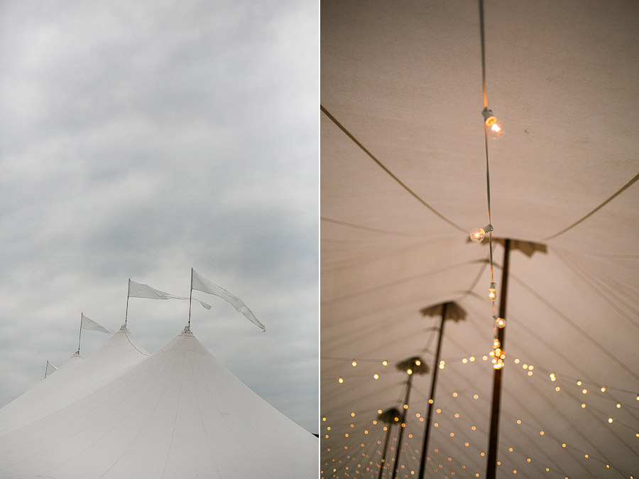Tent Wedding at Laudholm Farm Wedding