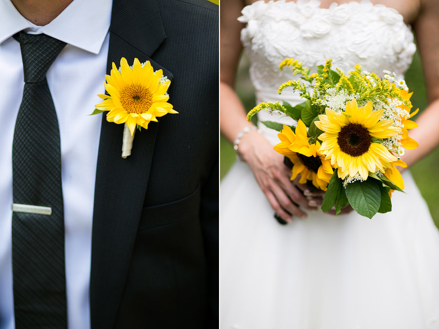 New England Back Yard Wedding Photos