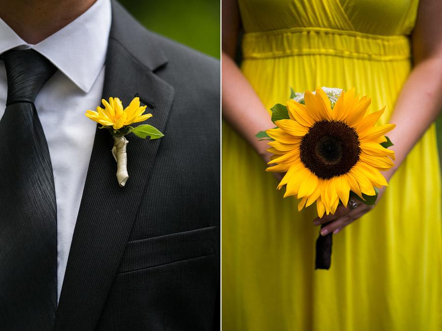 New England Back Yard Wedding Ceremony