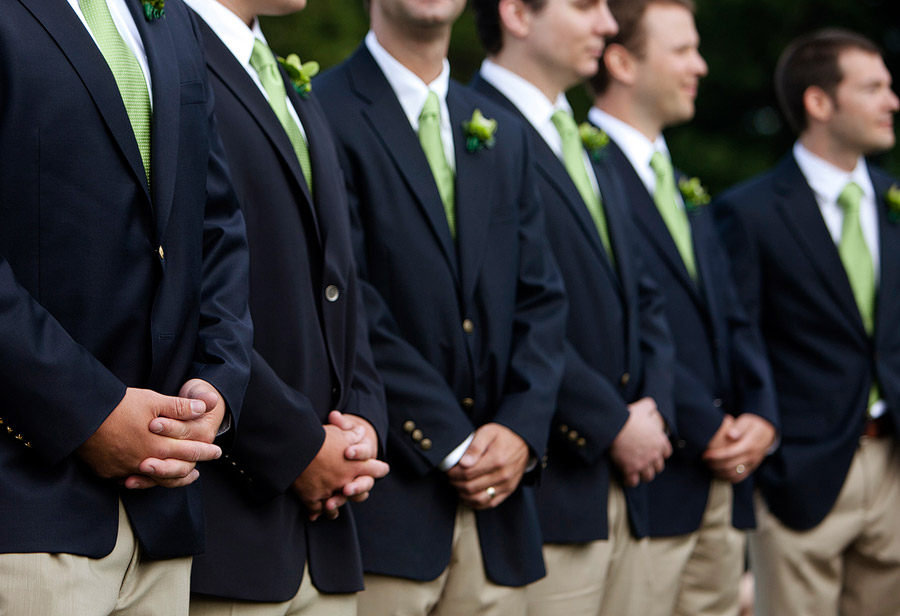 Preppy Duxbury Wedding