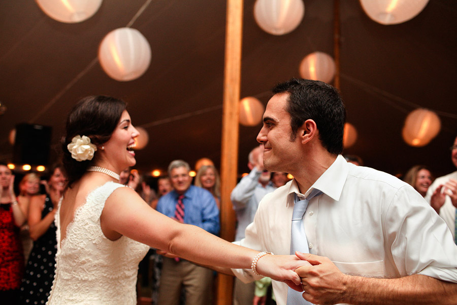 Duxbury Wedding Sperry Tent