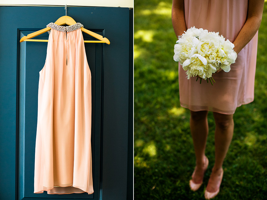 The Inn At the Round Barn Wedding Bridesmaid Dress
