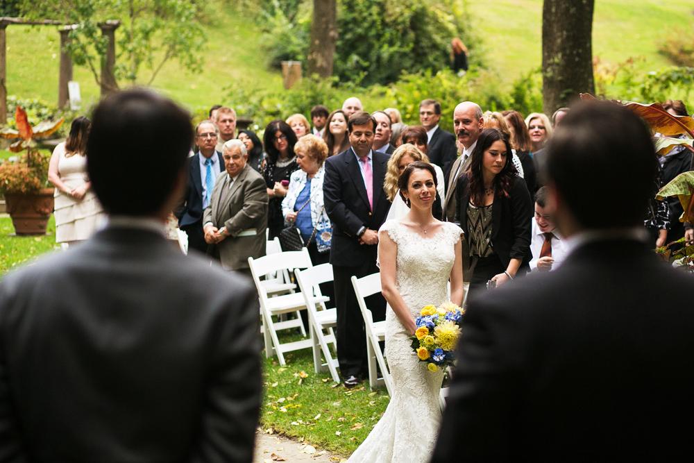 Codman Estate Wedding Ceremony