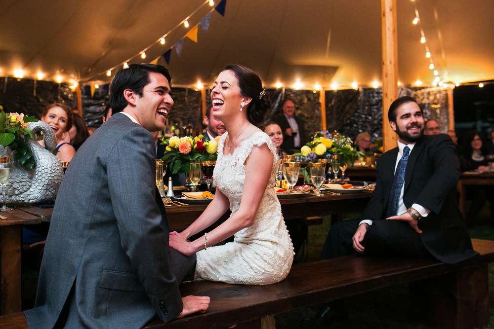 Codman Estate Tent Wedding
