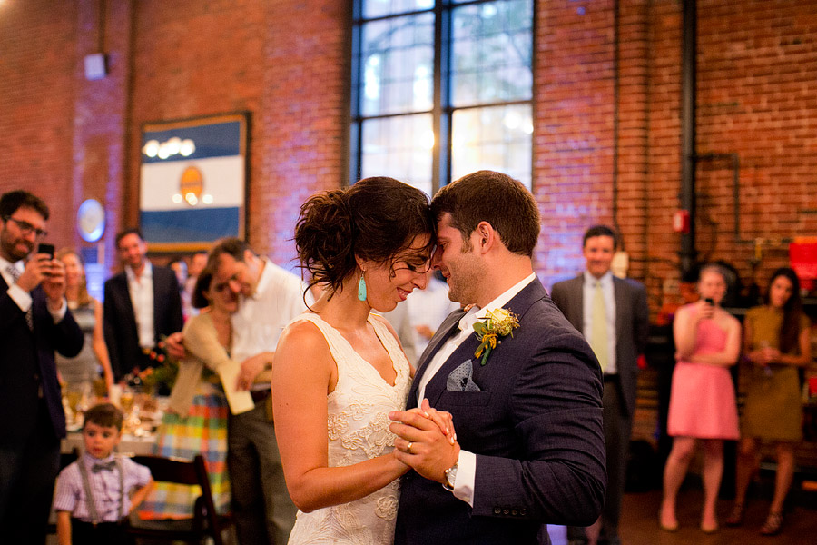 Charles River Museum of Industry and Innovation Wedding Reception