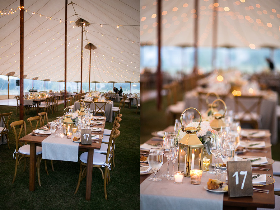 Sperry Tents Seacoast Rustic Wedding
