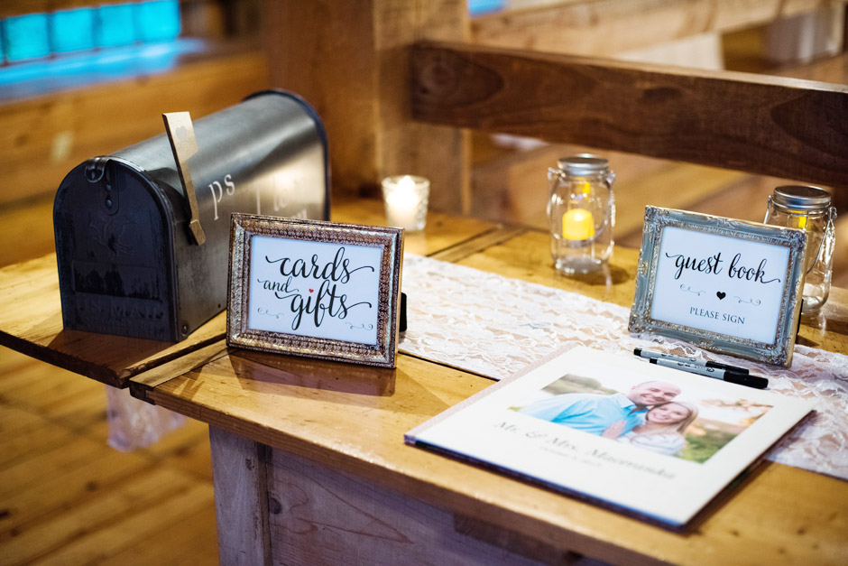 Red Lion Inn Fall Wedding Guest Sign Book