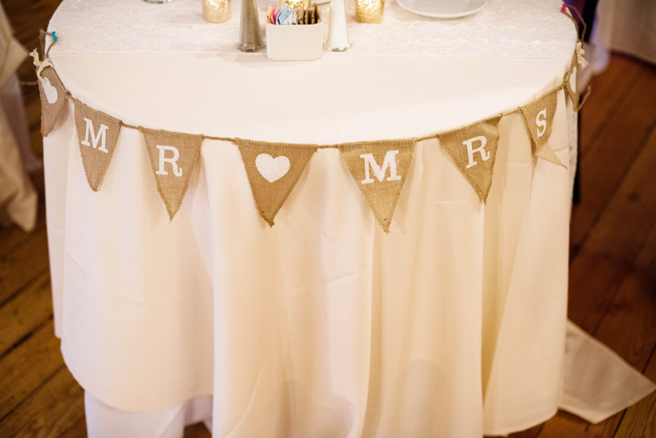 Red Lion Inn Fall Wedding Table