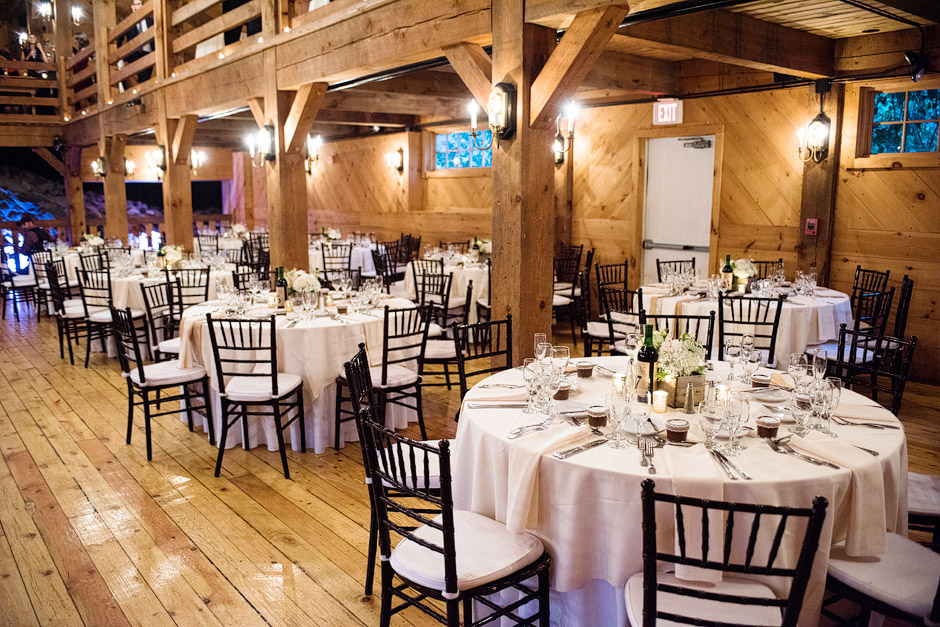 Red Lion Inn Fall Wedding Barn