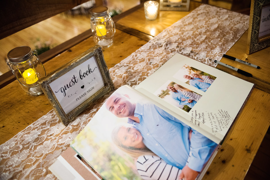 Red Lion Inn Fall Wedding Guest Book