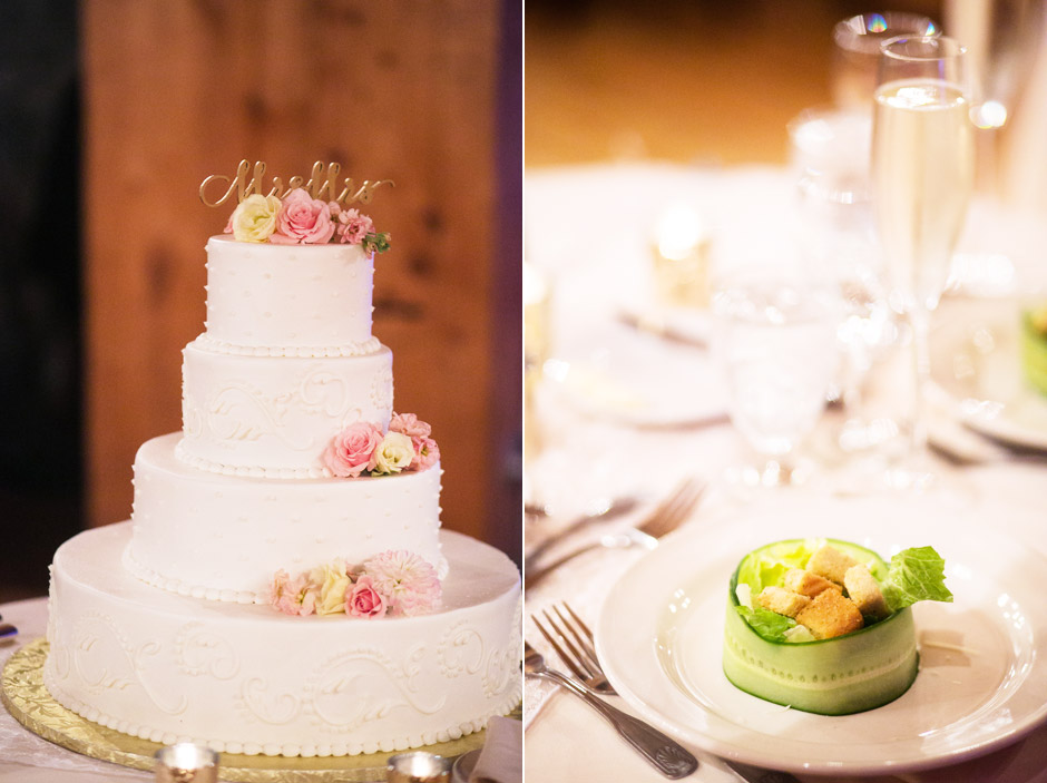 Red Lion Inn Fall Wedding Cake