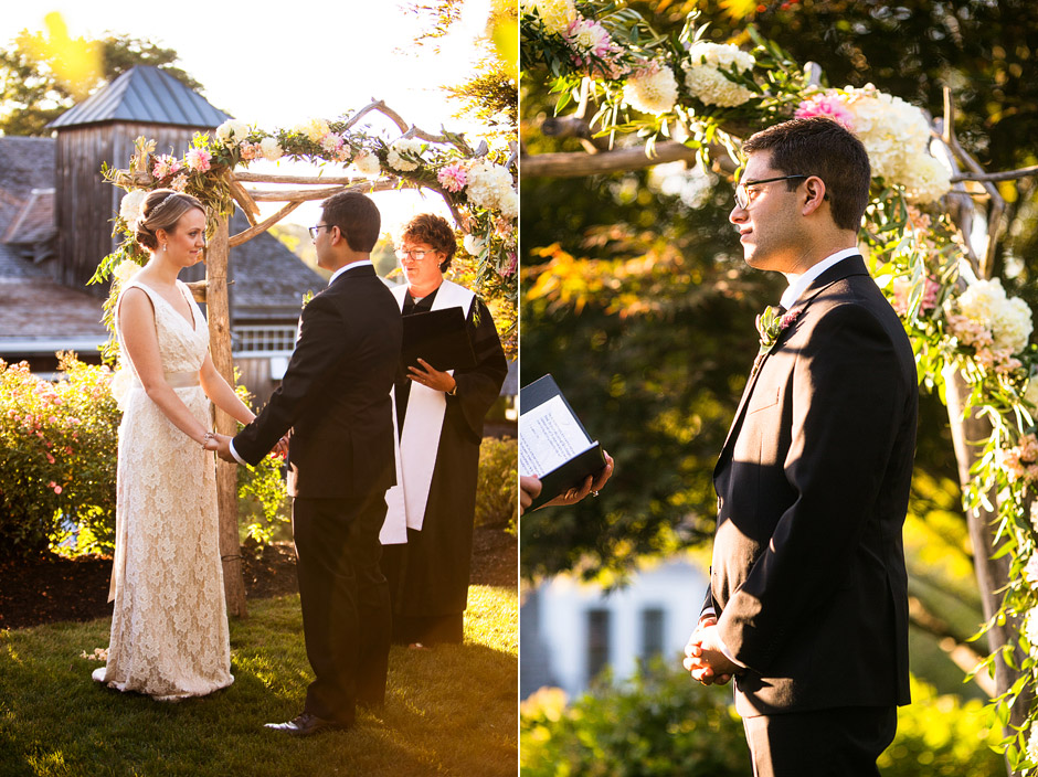 Red Lion Inn Wedding Ceremony
