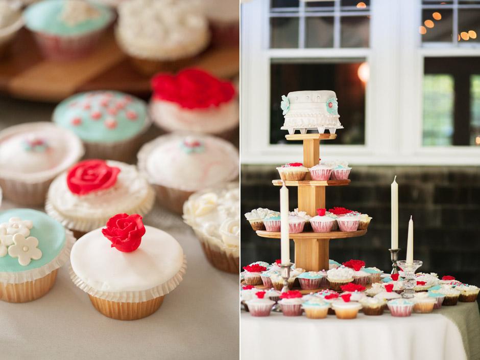 Overbrook House Wedding Cake