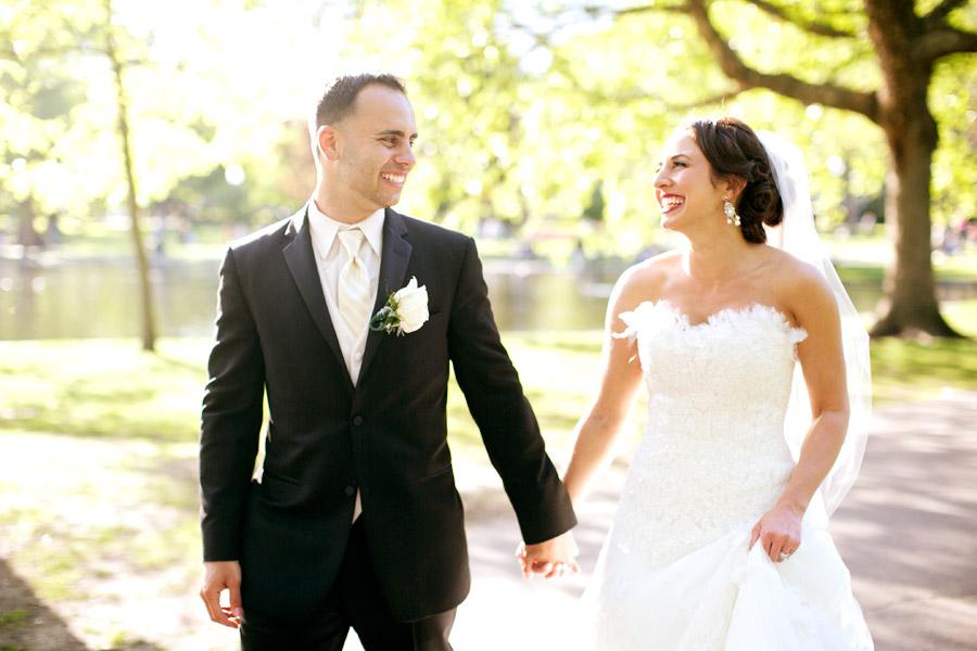 fairmont copley plaza wedding portrait