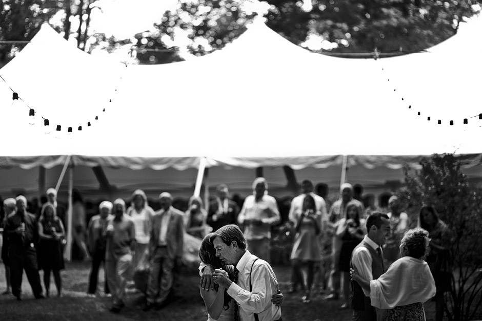 backyard tent wedding nh