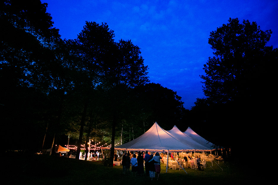 tent wedding nh