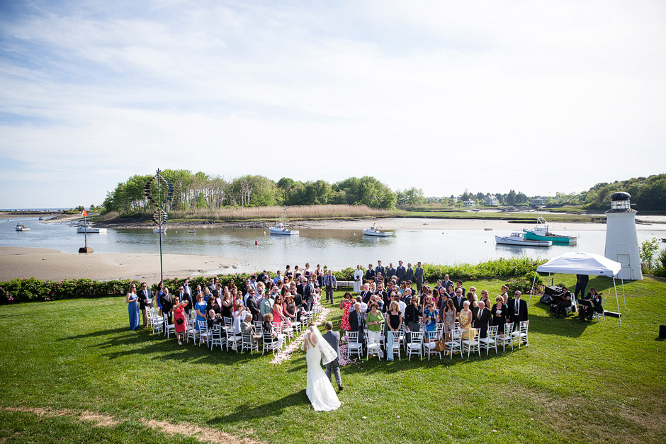 Nonantum Resort Wedding ceremony