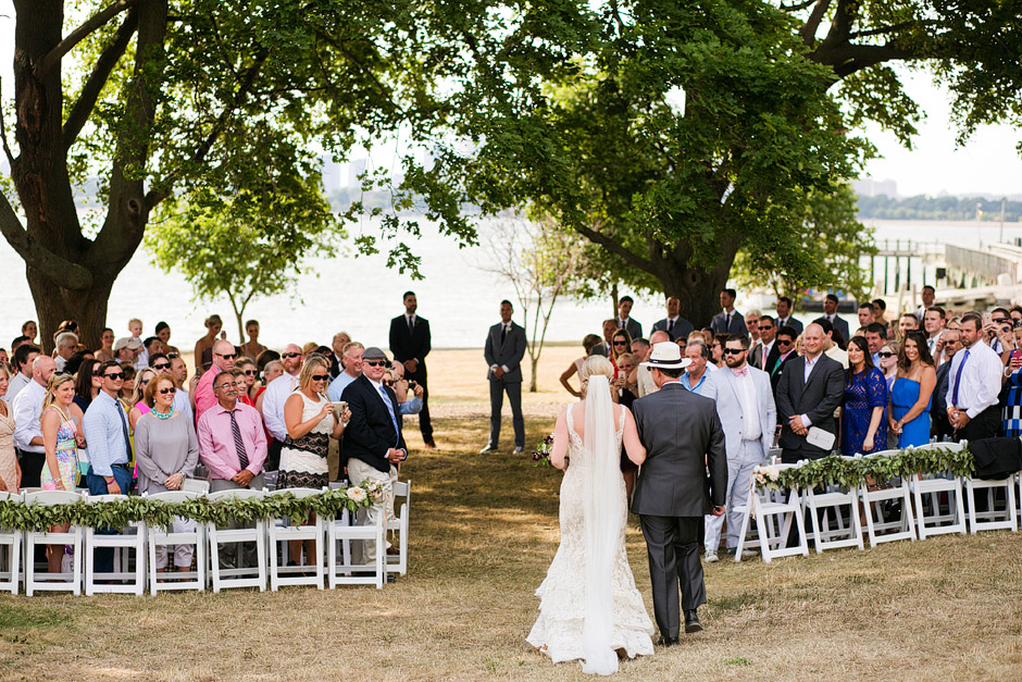 Thompson Island Wedding