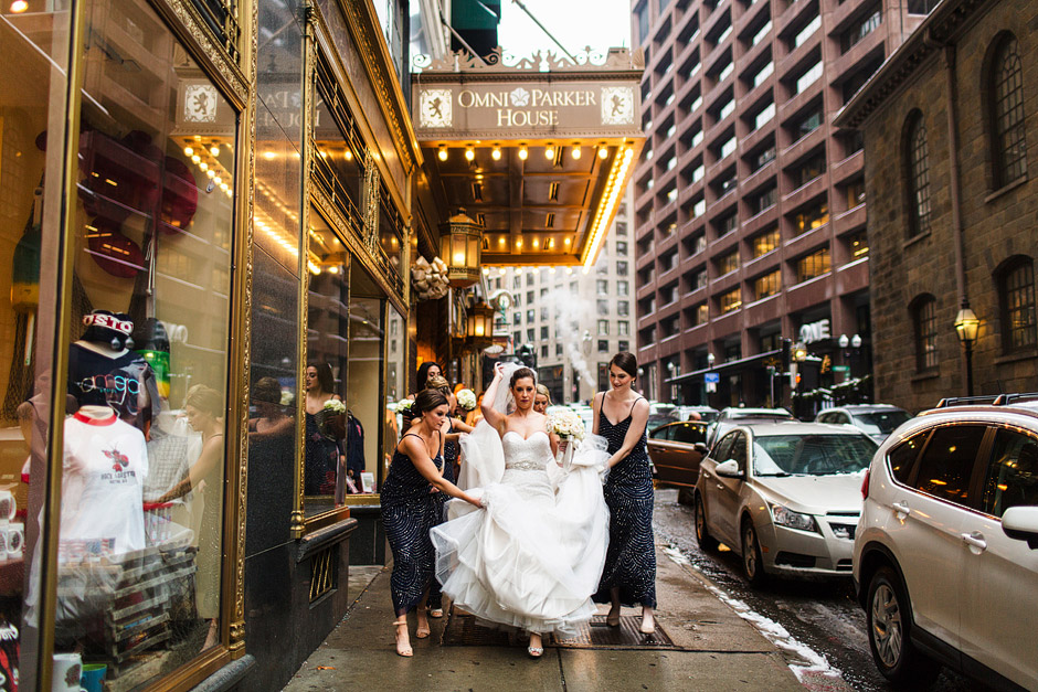 Omni Park House Wedding Photos