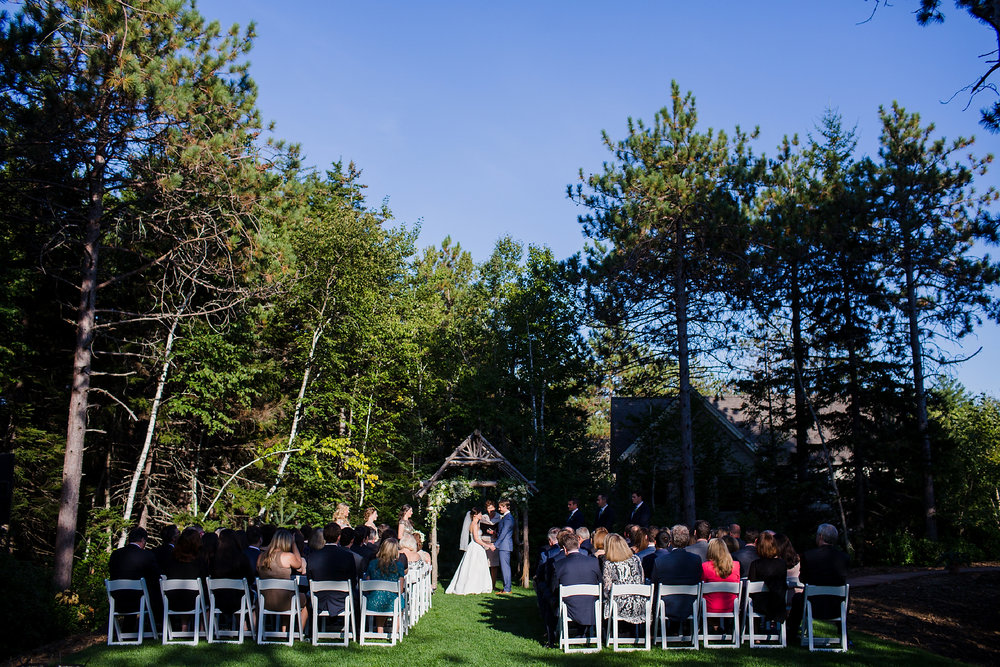 Hidden Pond Wedding Ceremony