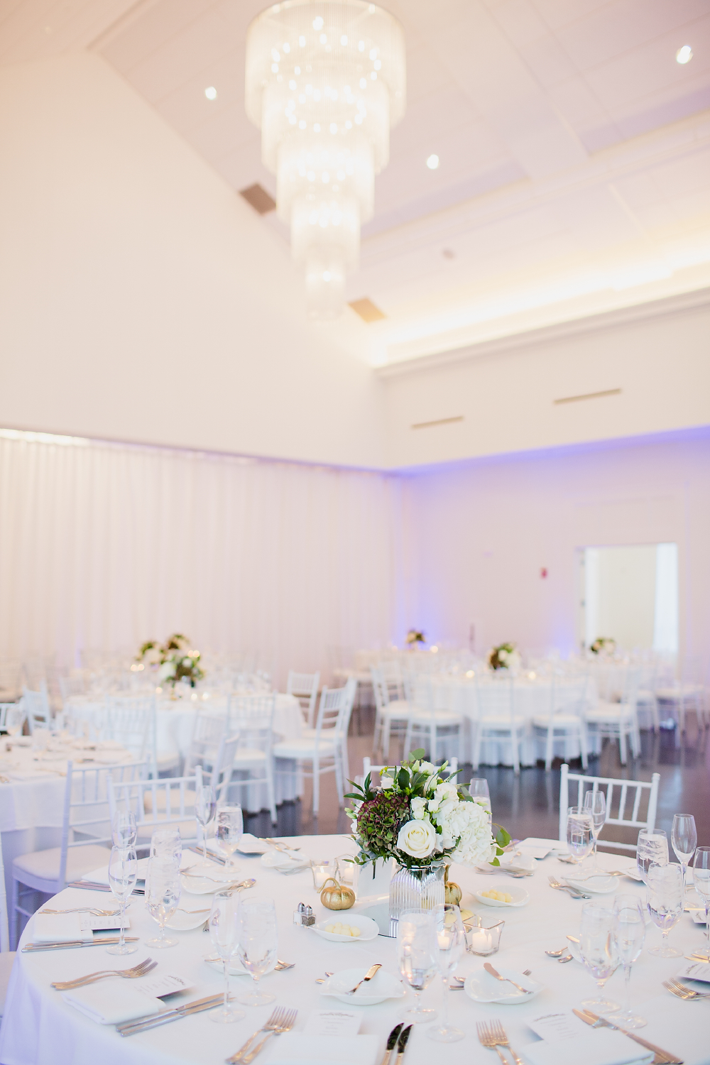 Lakeview Pavilion Indoor Wedding Reception Boston
