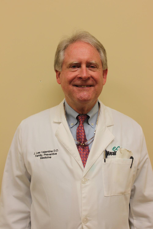 Dr. J. Lee Valentine, D.O. Director of Medical Education Program Director
