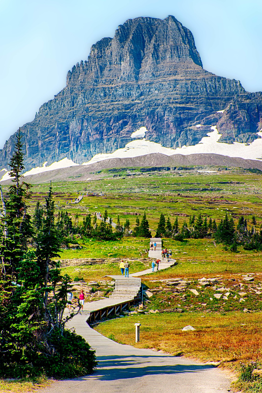 Logan Pass at the Top