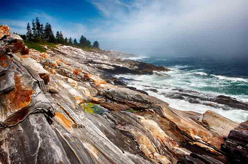 Pemaquid Point - Fog Rolling In