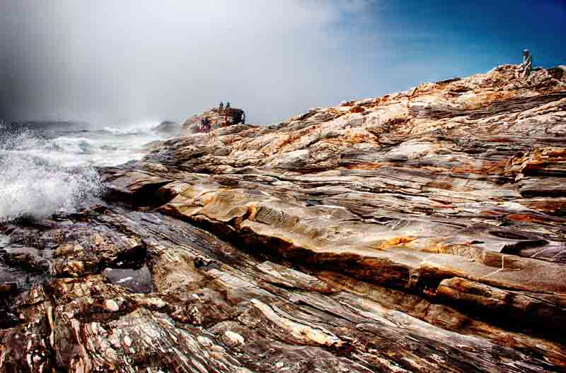 Pemaquid Point - Lifting Fog