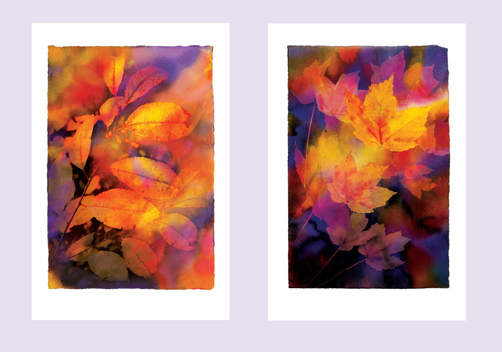 Autumn Leaves I and II