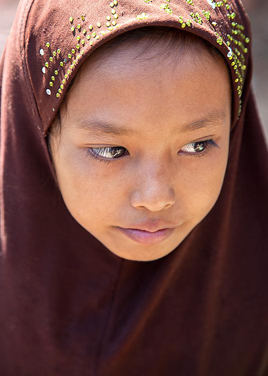 Cham Girl, Chan Doc, Vietnam 2013