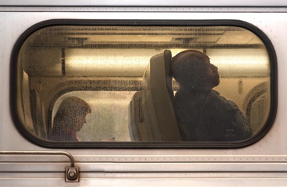 Caltrain Passengers, San Francisco 2009