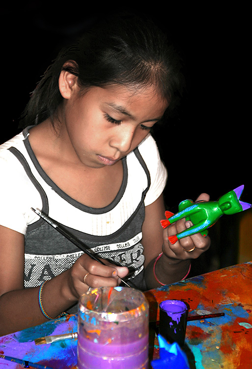 Woodcarver's Daughter, Oaxaca, Mexico 2005