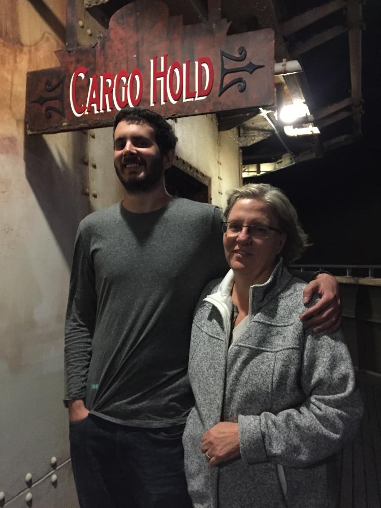 Debbie and Carlos