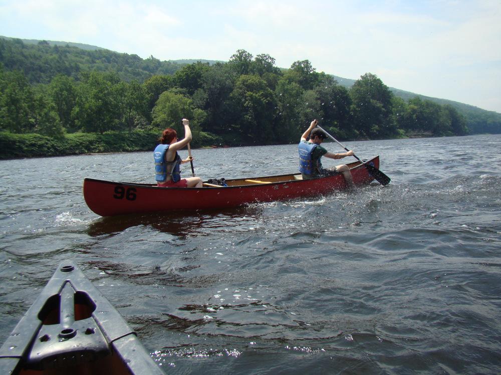 Canoeing the Delaware Water Gap 1.jpg