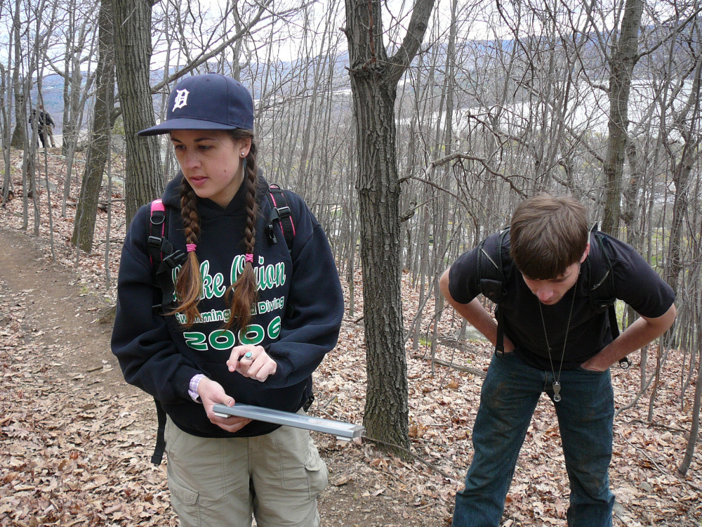 Hudson Valley Botany Walk with NYBG graduate student Jenna Dorey - April 27