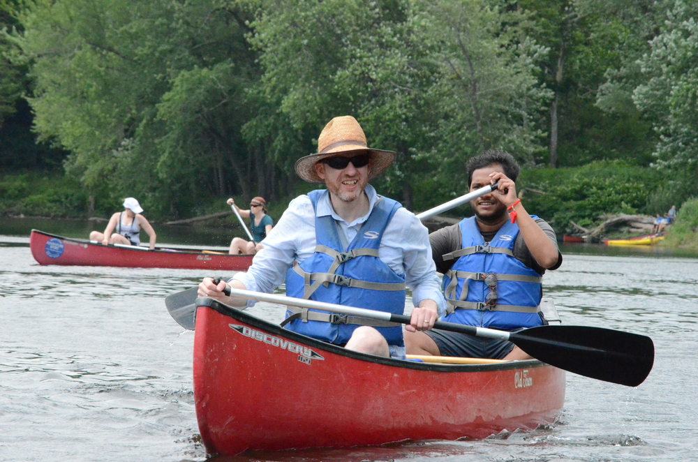 4th Annual Delaware Gap Canoe Trip - July 18