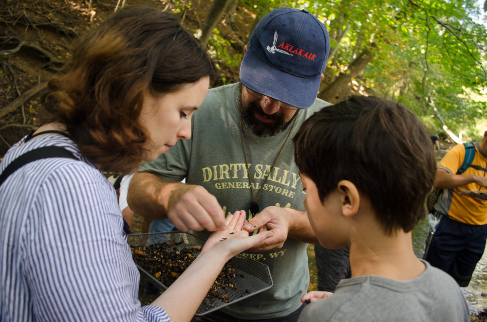 Finding Fossils in Big Brook, NJ with AMNH paleontologist Carl Mehling - September 23