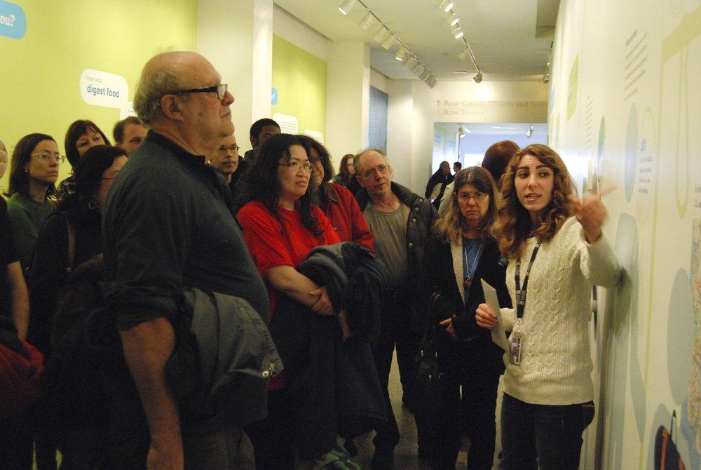 "Tour of AMNH's ""Inside You"" with Melissa Ingala - January 28"