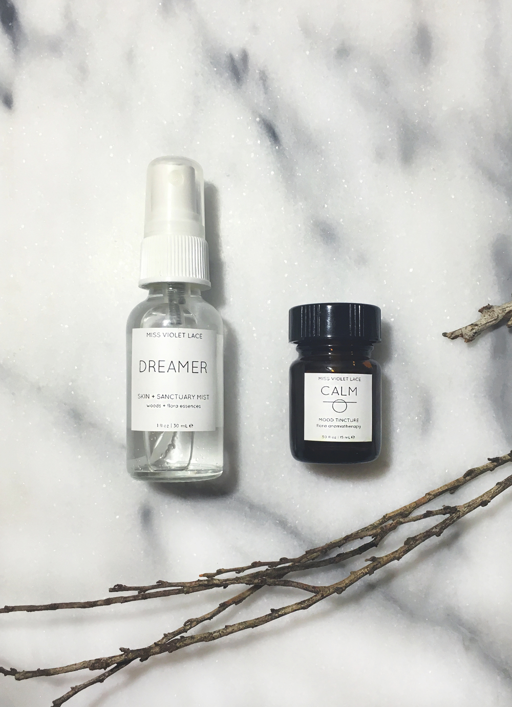 Miss Violet Lace DREAMER Mist and CALM Mood Tincture