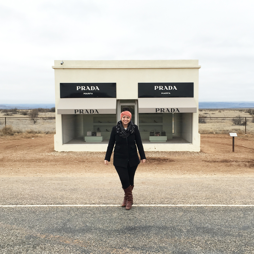 """Prada Marfa"" permanent art installation — Marfa, Texas"