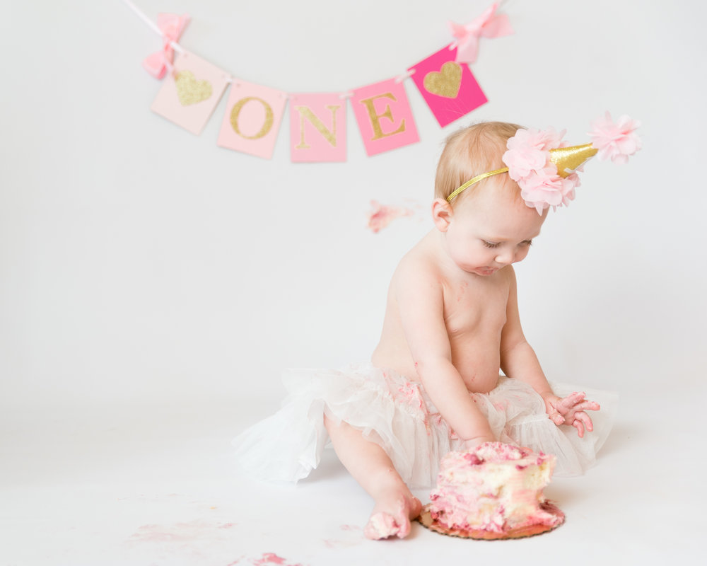 Cake Smash Raleigh Photographer