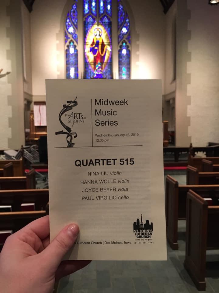 St John's Midweek Music