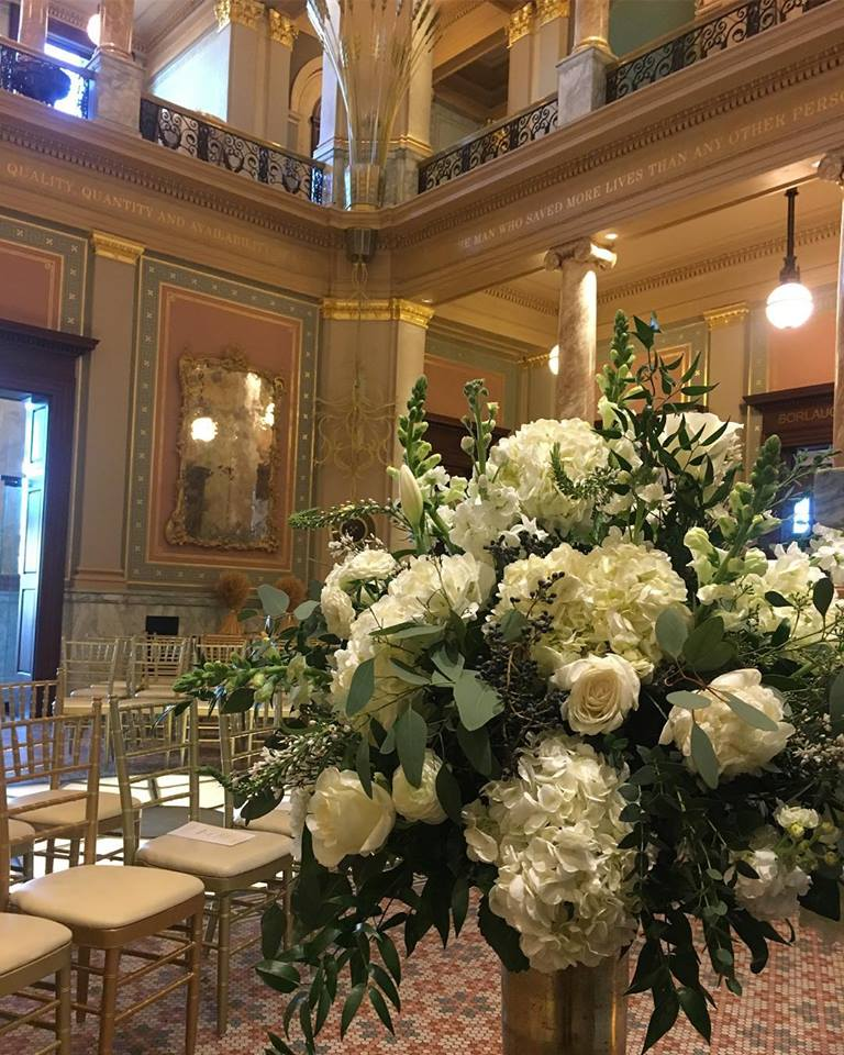 World Food Prize wedding